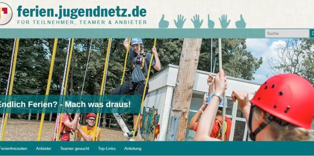 Screenshot Ferien.jugendnetz.de