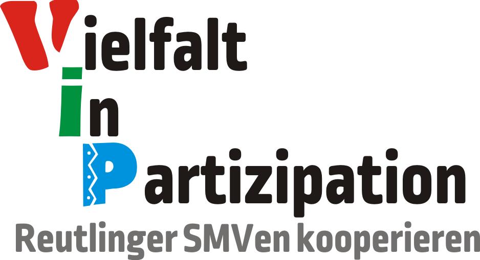 Nicht-offizielles Logo: Vielfalt in Partizipation - Reutlinger SMVen kooperieren