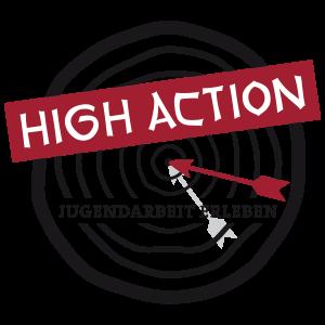 Logo von High Action, der Jugendveranstaltung