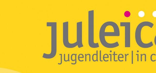 Grafik mit Text: juleica Jugendleter_innen Card
