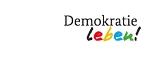 Logo des Förderprogramms Demokratie leben!