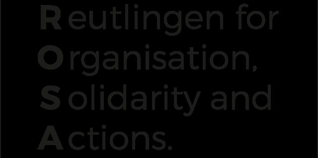 Logo von ROSA. Reutlinger Organsiation für Solidarität und Aktion